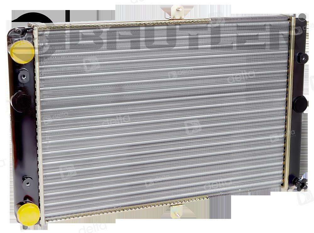 Радиатор ВАЗ-2108 инжектор алюминиевый BAUTLER 21082-1301012 BTL-0082