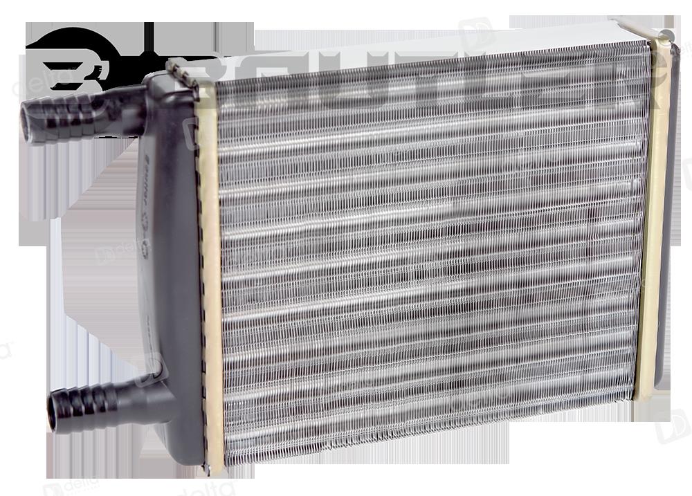 Радиатор отопителя ГАЗ-3302,2705,3221,2217,2752 18мм алюминиевый BAUTLER BTL-3318Н 3302-8101060-10 BTL-3318H