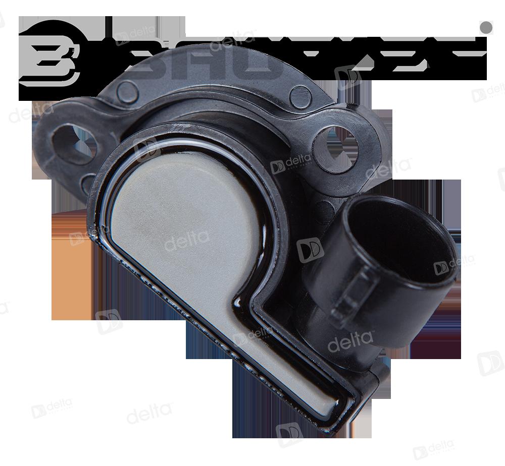 Датчик положения дроссельной заслонки LADA все модели BAUTLER 2112-1148200/ 29.3855 BTL-0012TPS