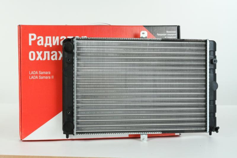 Радиатор ВАЗ-2108-99 Samara, 2113-15, ВИС 1706 ИНЖЕКТОР ОАТ ДЗА 21082-1301012-00